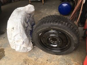 Two Snow Tires 205/60r16
