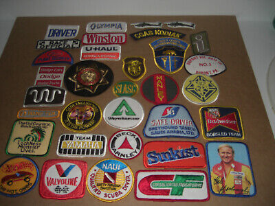 Company Advertising Vintage 1980's Patches Wholesale Lot of 32  Lot #3