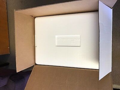 Styrofoam Insulated Shipper Shipping Cooler Box 24 X 16 X 17 External