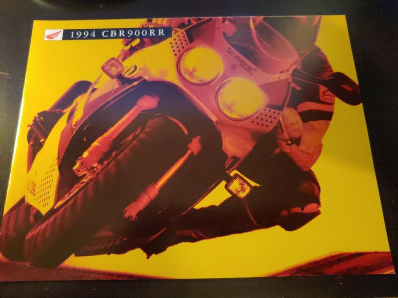 VTG 1994 HONDA CBR900RR CYCLE SALES BROCHURE