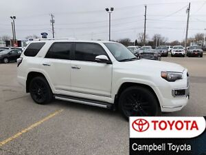 2017 Toyota 4Runner LIMITED-LOADED--1 OWNER--LOCAL TRADE