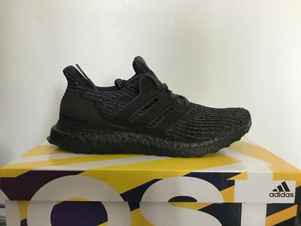 a90d5a88542 ADIDAS ULTRABOOST 4.0 TRIPLE BLACK US8 UK7.5