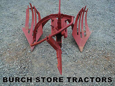 Official Ih Farmall 1 Point Fast Hitch Hillside Bottom Plow 140 130 Super A 100