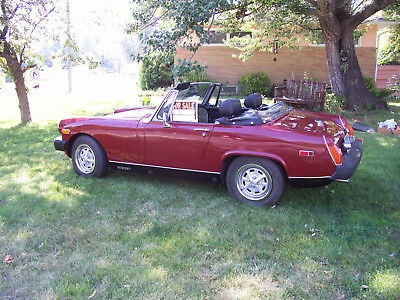 1975 MG Midget  1975 MG Midget Convertible red/black Great Car