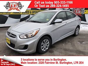 2016 Hyundai Accent LE, Automatic, Heated Seats, 68, 000km