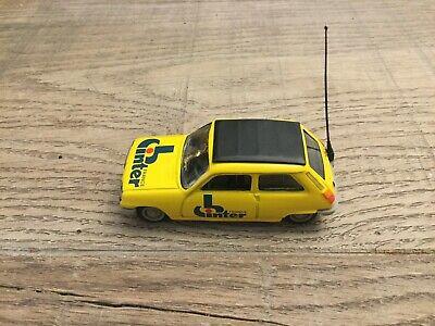 """Norev 1/43 Renault 5 """"Inter France"""" yellow Caravane du Tour de France n°12"""