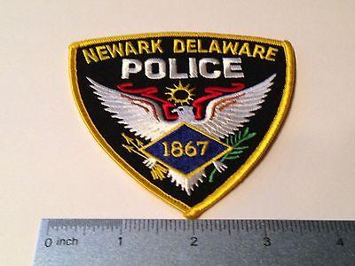 Newark Delaware DE Police Patch old