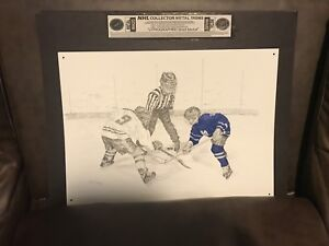 Toronto Maple Leafs Collector Metal Signs