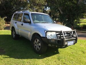 2008 MITSUBISHI PAJERO T/D AUTO WAGON $7990 with 1 YEAR WARRANTY Leederville Vincent Area Preview