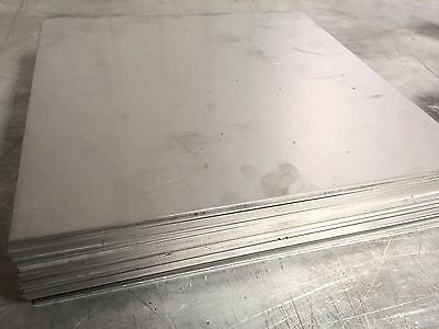 Titanium Plate 6al4v 12 X 12 X .100