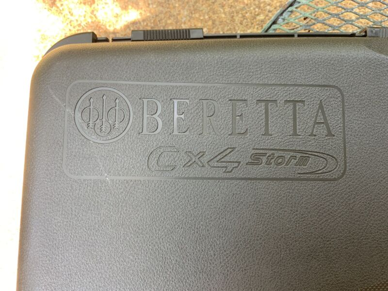 BERETTA CX4 STORM OEM ORIGINAL CASE & DOCUMENTS,COMPLETE YOUR GUN OWNERSHIP,NICE