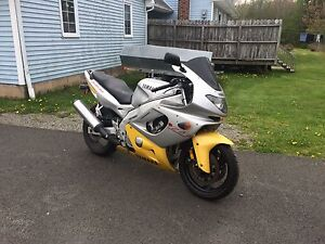 1996 YZF 600R Yamaha motorcycle for sale