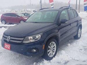 2012 Volkswagen Tiguan AWD !!CERTIFIED!!FINANCING!!WARRANTY!!