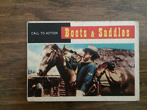 Call to Action Boots and Saddles card