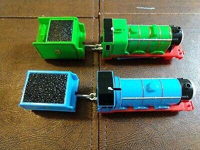 Thomas & Friends GORDON & HENRY Trackmaster Motorized Train 2013 MATTEL