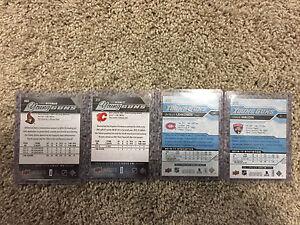 YOUNG GUNS ROOKIE CARDS (4) incl SAM BENNET! Edmonton Edmonton Area image 2