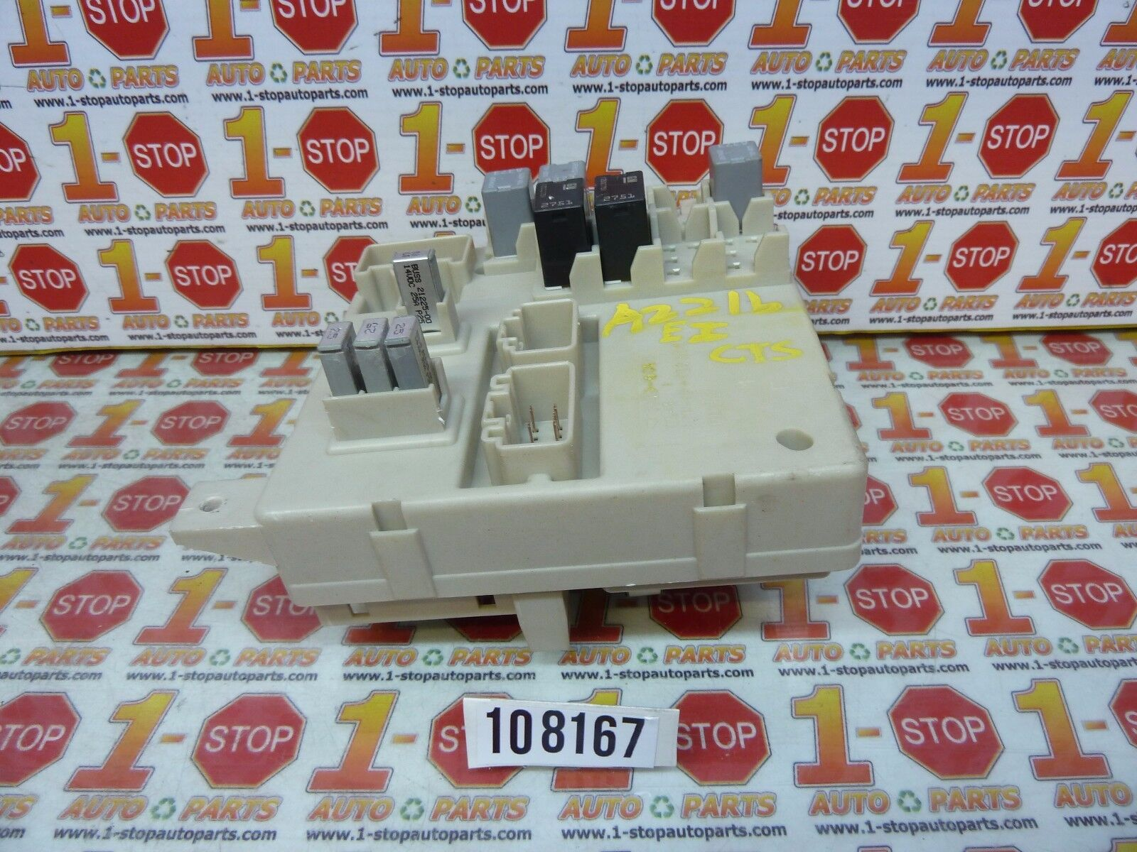 Used Cadillac Other Computer Chip Cruise Control Parts For Sale 2005 Cts Fuse Box Inside 2008 2009 Interior Cabin 25856534 Oem