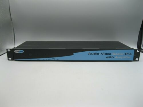 Gefen Audio/Video Scaler Pro With Amplifier Model Distribution Amp Audio