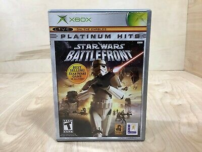 Star Wars: Battlefront (Microsoft Xbox, 2004) Complete with Manual Tested Works