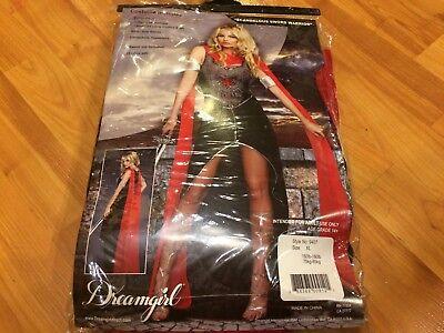 Sexy Amazon Warrior Zena Athena Goddess Medieval Pallas Womens Adult XL Costume  ()