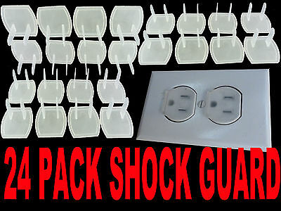 24 piece safety electric outlet plug protector cover child p