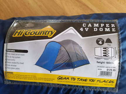 HI COUNTRY 4V DOME TENT AS NEW & tents in Point Cook 3030 VIC | Camping u0026 Hiking | Gumtree ...