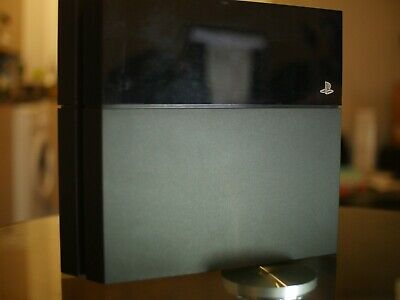 Sony PlayStation 4 500GB Jet Black Console - Pristine (Read Description)