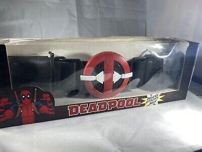 Marvel Deadpool Deluxe Utility Belt New