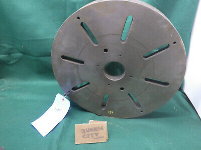 17 Precision Lathe Face Plate D1-6 Camlock Mount Slotted 78 Pins