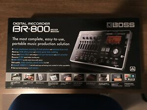 Boss BR-800 Digital Recorder w/ Phantom Power Supply