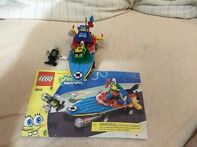 LEGO Minifigures Set 3815 Heroic Heroes of the Deep SpongeBob Plankton Patrick