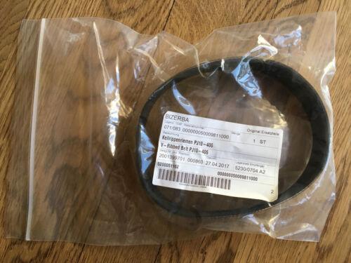 Bizerba V-Ribbed Belt PJ10-406 50009811000 Slicer Belt NEW