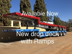 New drop deck with Bifold Ramps From $60,000 Plus GST Pickering Brook Kalamunda Area Preview