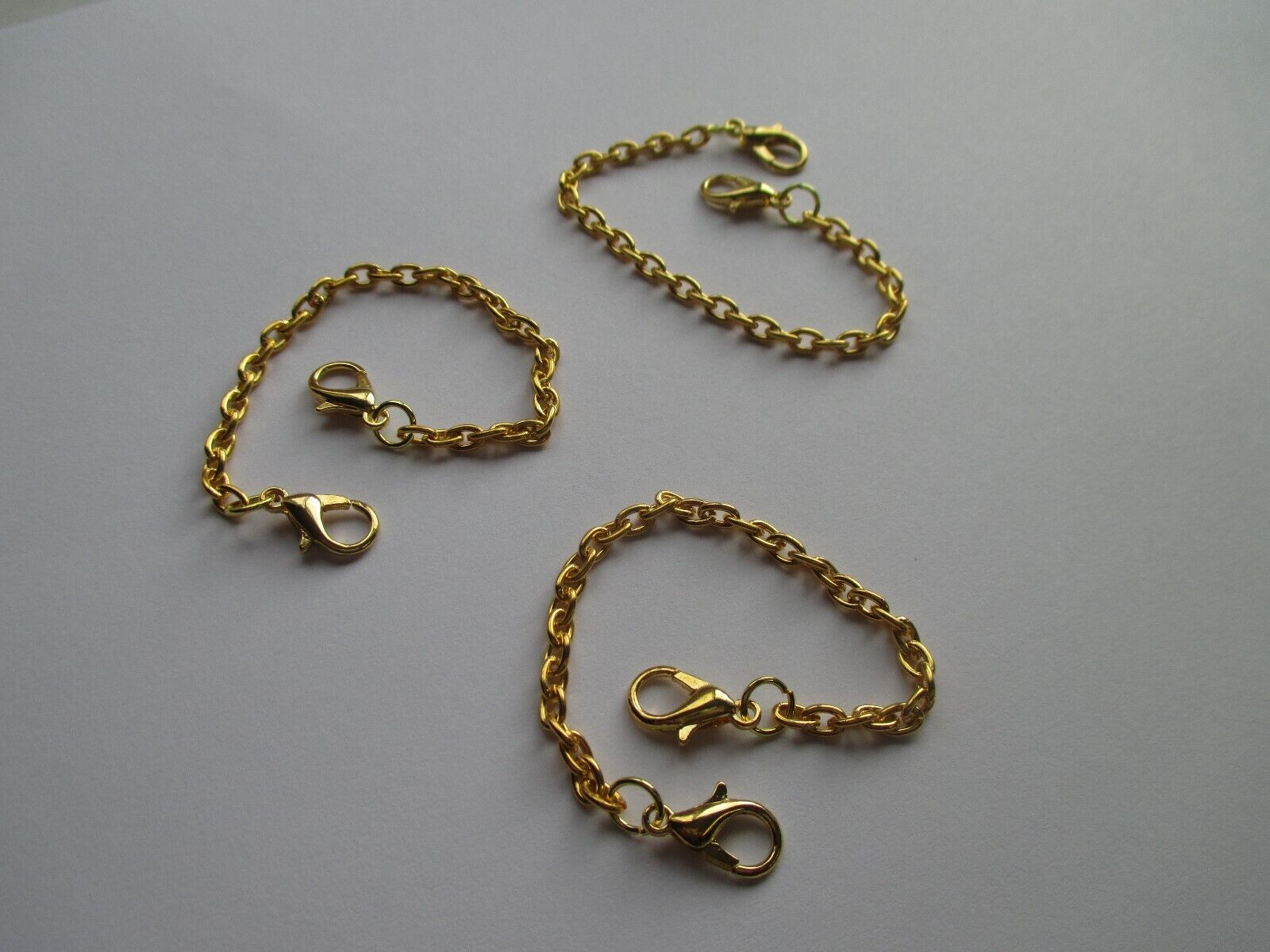 Jewellery - UK Jewellery 3 Pieces Gold Extension/extender Necklace Pendant Bracelet Chain