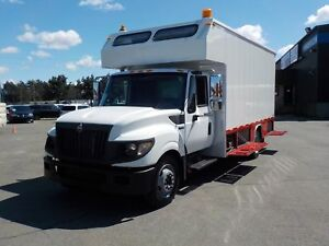 2012 International TerraStar 18 Foot Cube Van & Workshop Service