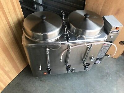 All Stainlesss Cecilware Grindmasterfe200 Automatic Coffee Urn Machine Wfilter