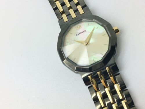 LASSALE (by Seiko) CXN060 LADIES 22KT GOLD PLATED NOT-WORKING WATCH 4N00-5879