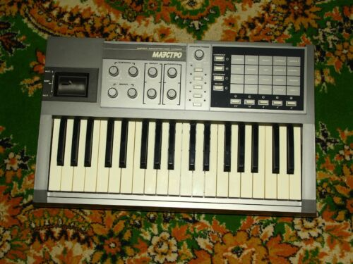 MAESTRO NEW RARE Vintage SYNTHESIZER USSR Rare Vintage Electric Soviet Russian