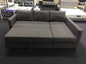 Brand New Grey Fabric L Shape Storage Sofa Bed Couch Loung(SP124) Clayton South Kingston Area Preview