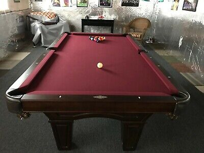 Tables   Brunswick Slate Pool Table