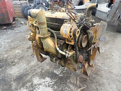 Detroit Diesel 4-53 Engine Runs Mint Low Hrs Video 453 Lh Exhaust Timberjack Gm