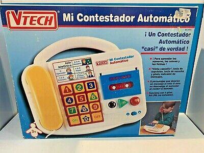 JUGUETE ELECTRONICO EDUCATIVO VTECH MI CONTESTADOR AUTOMATICO (AÑO 1994)