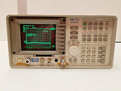 Hp 8595e Spectrum Analyzer 6.5ghz With 010 041 053 0b0 119 140