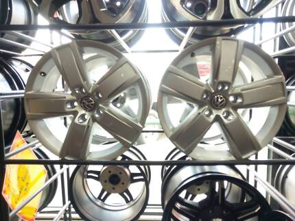 Vw Amarok Dark Label Alloy Rims And Tires Wheels Tyres