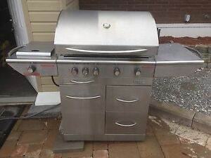 Centro Stainless Steel BBQ