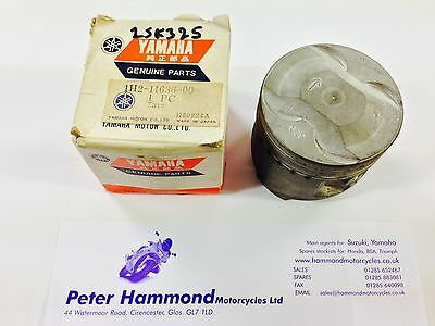 <em>YAMAHA</em> XS500 1976 1977 PISTON 2ND OS  050MM 1H2 11636 00 GENUINE YA