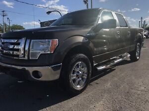 2009 Ford F-150 xlt 4x4 superCrew a/c + 6 places