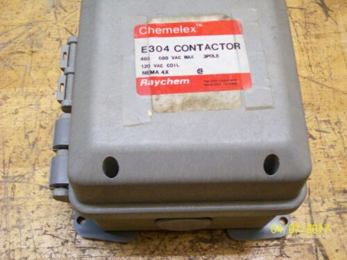 RAYCHEM CHEMELEX E304 CONTACTOR HINGED ENCLOSURE ONLY