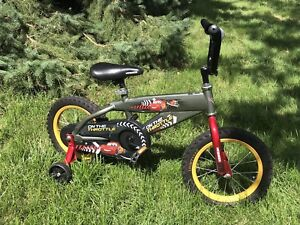 Bike - Kids BMX with training wheels Car's bike