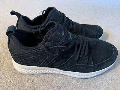 Puma Blaze Ignite men's suede trainers in black/white - size 8